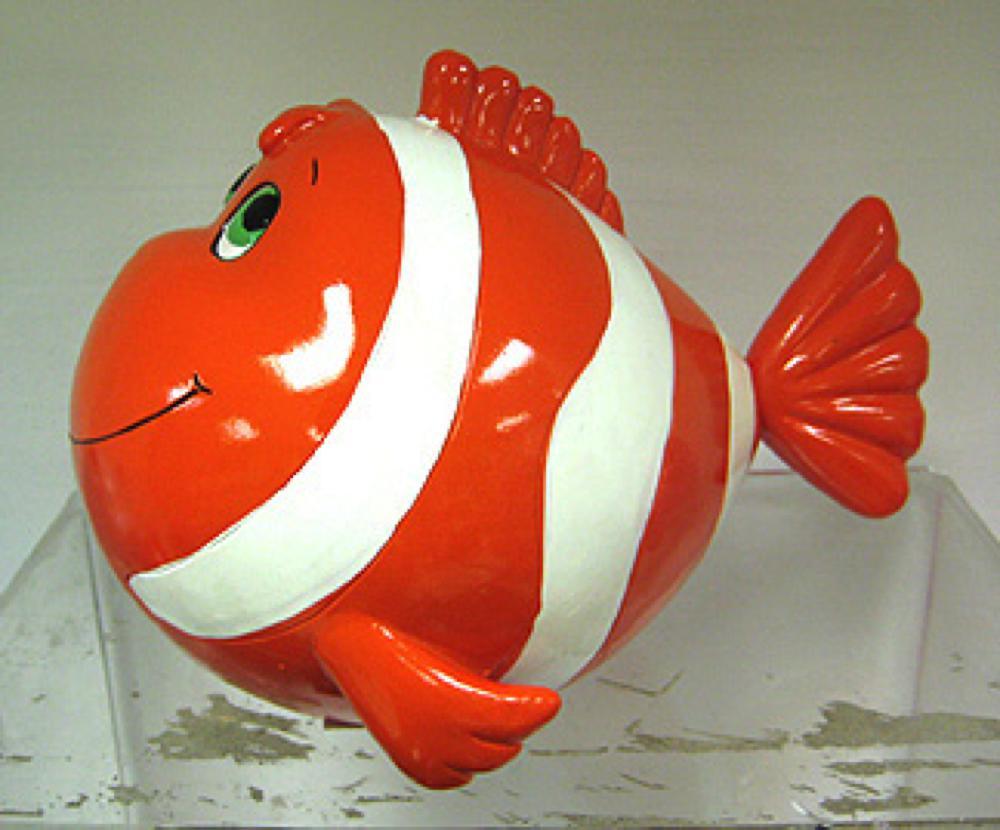 Tirelire poisson clown 7 pouces club jouet achat de for Achat poisson clown