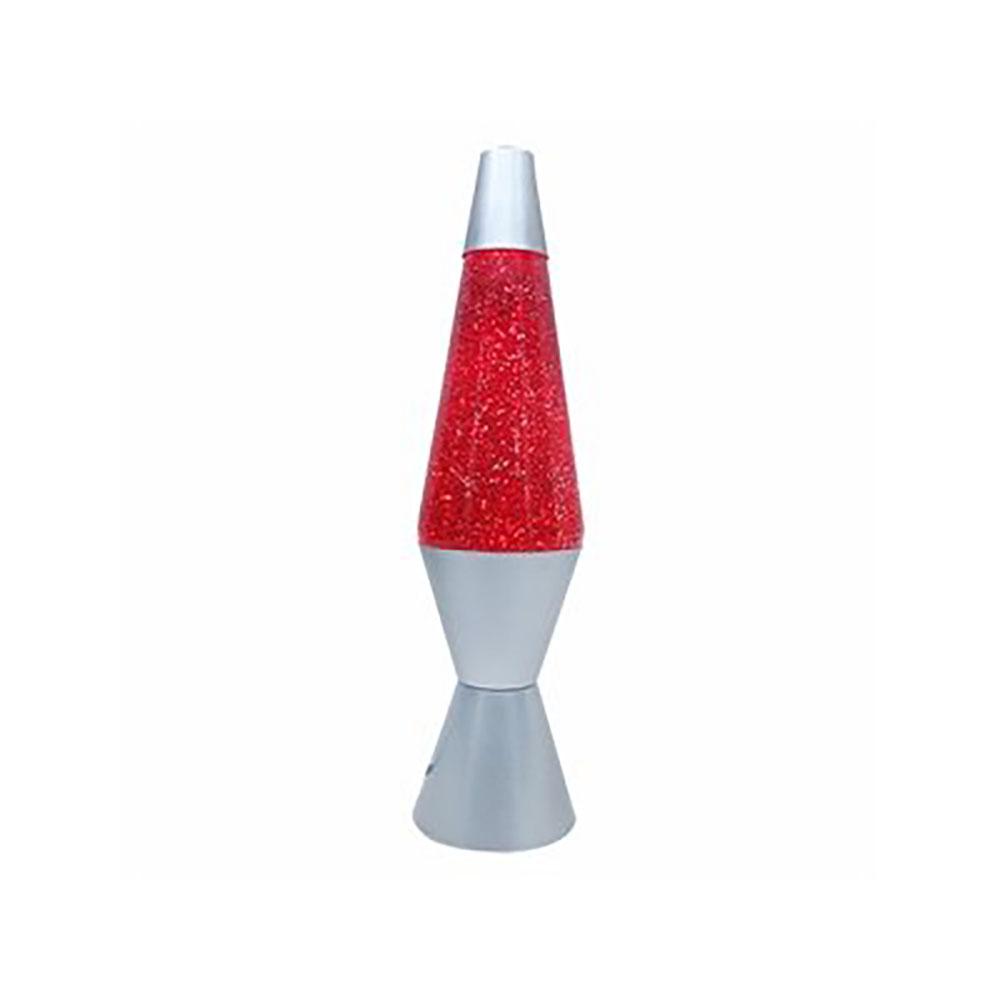 Lampe liquide scintillante rouge 14 pouces