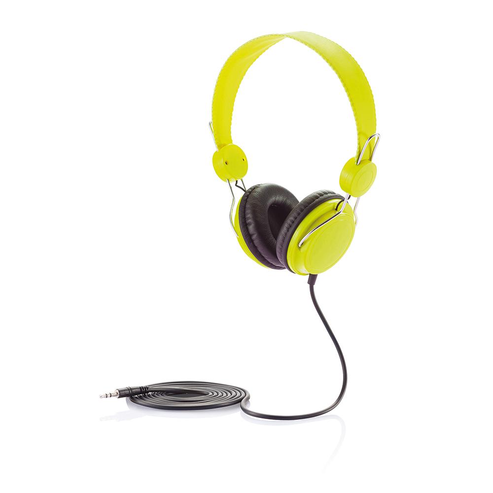 Casque D'écoute vert