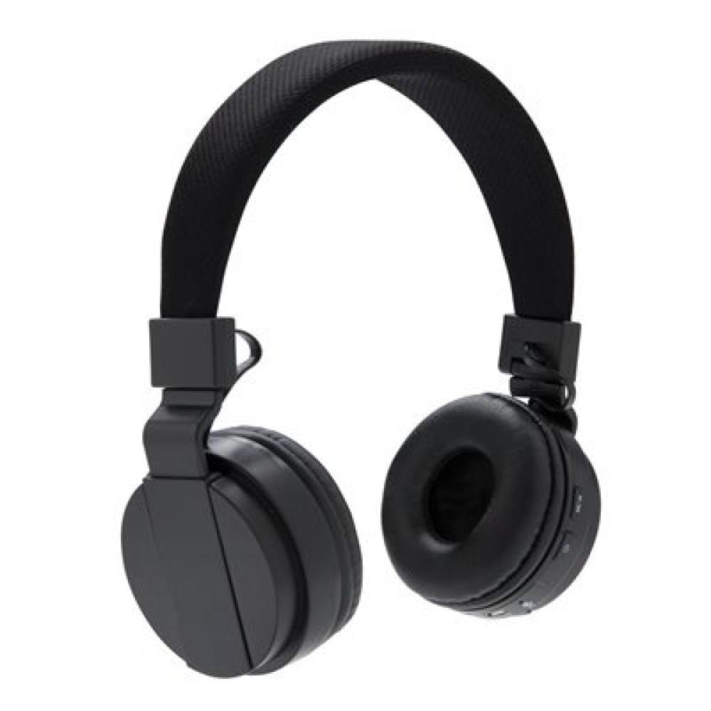Casque d'écoute bluetooth pliable (Noir)