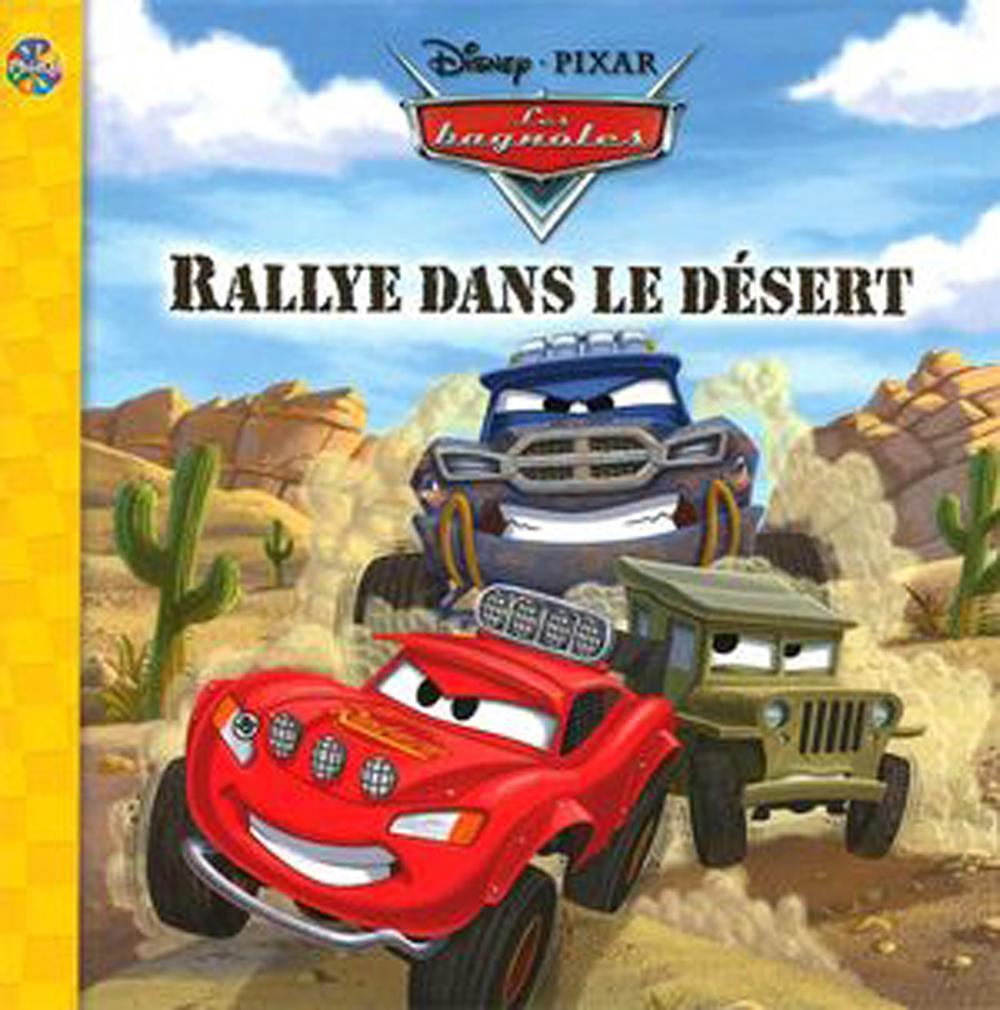 Livre Phidal - Les bagnoles, Rallye dans le désert
