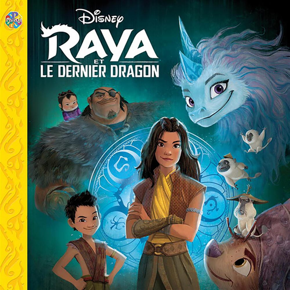 Livre Phidal - Raya et le dernier Dragon