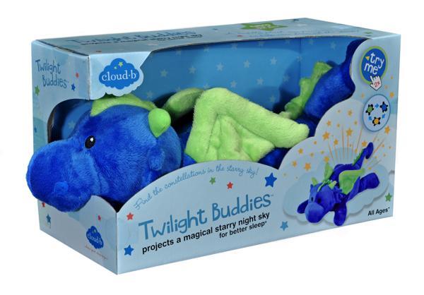 Cloud B - Twilight Buddies Dragon bleu