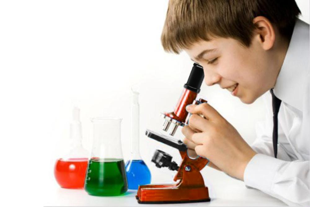 Microscope de luxe 51 pièces 900X