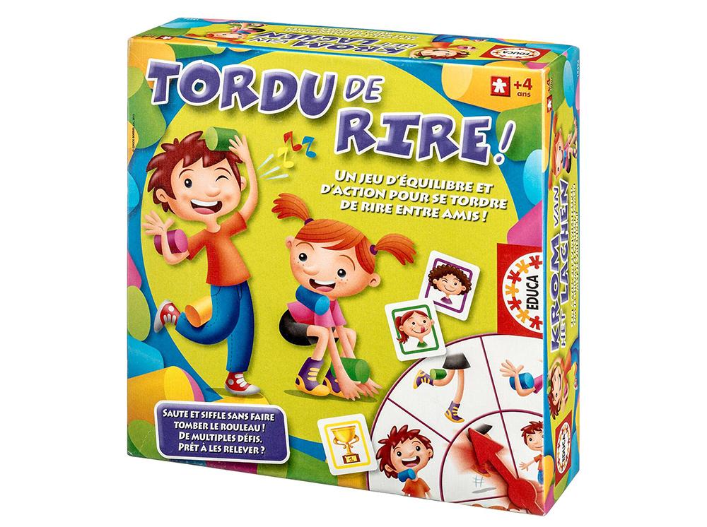 Educa - Jeu Tordu de rire! Version française