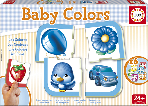 Jeu Baby couleurs