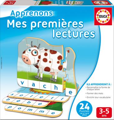 Educa - Apprenons Mes Premières Lectures Version française