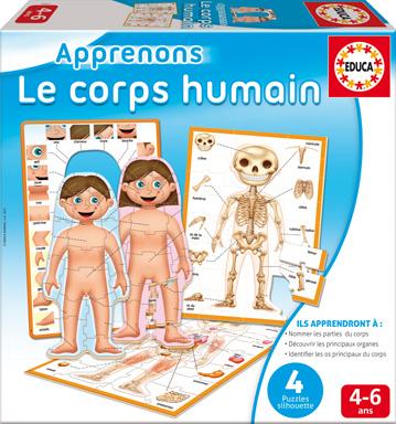 Educa - Apprenons Le Corps Humain Version française