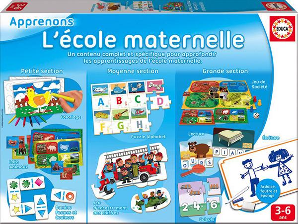 Educa - Apprenons l'École Maternelle Version française