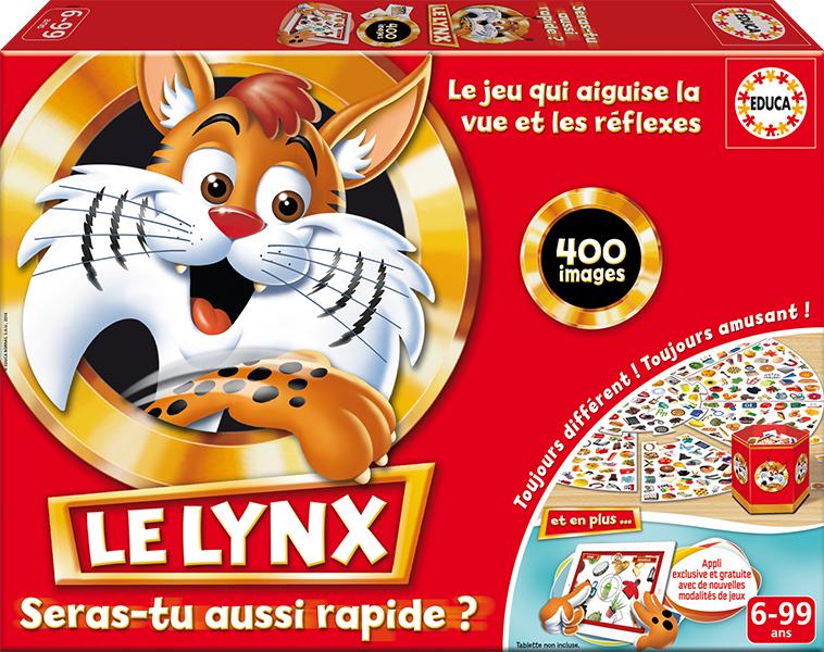 Educa - Le Lynx 400 images Version française
