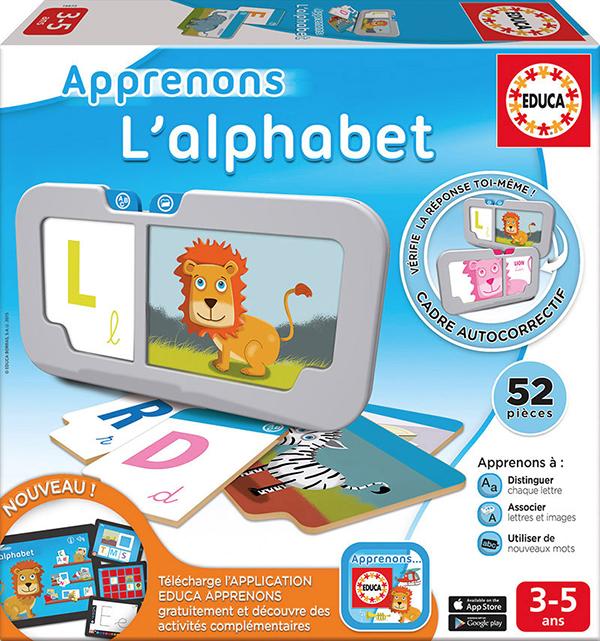 Educa - Apprenons l'alphabet Version française