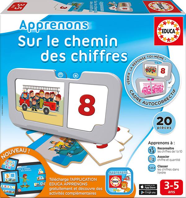 Educa - Apprenons Sur le chemin des chiffres Version française