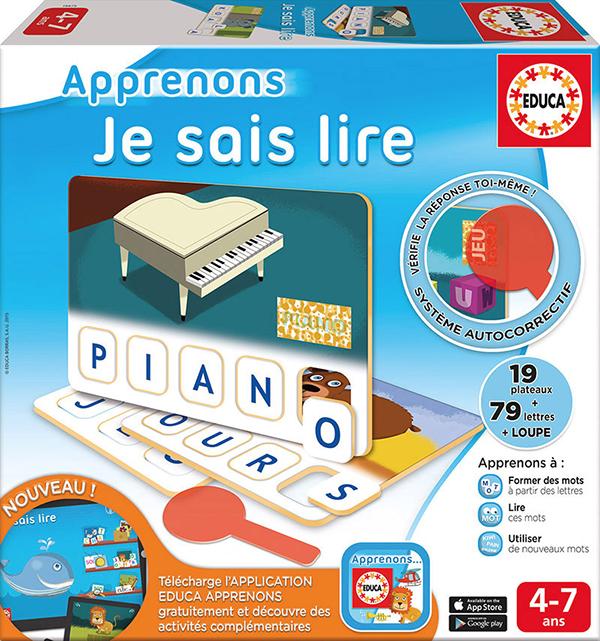 Educa - Apprenons Je sais lire Version française