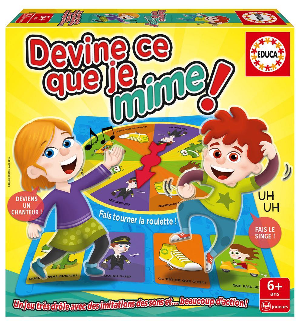 Educa - Devine ce que je mime Version française
