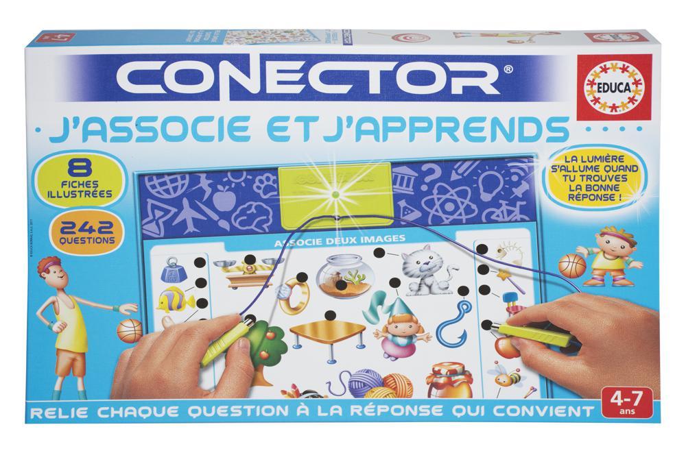 Educa - Conector J'associe et j'apprends Version française