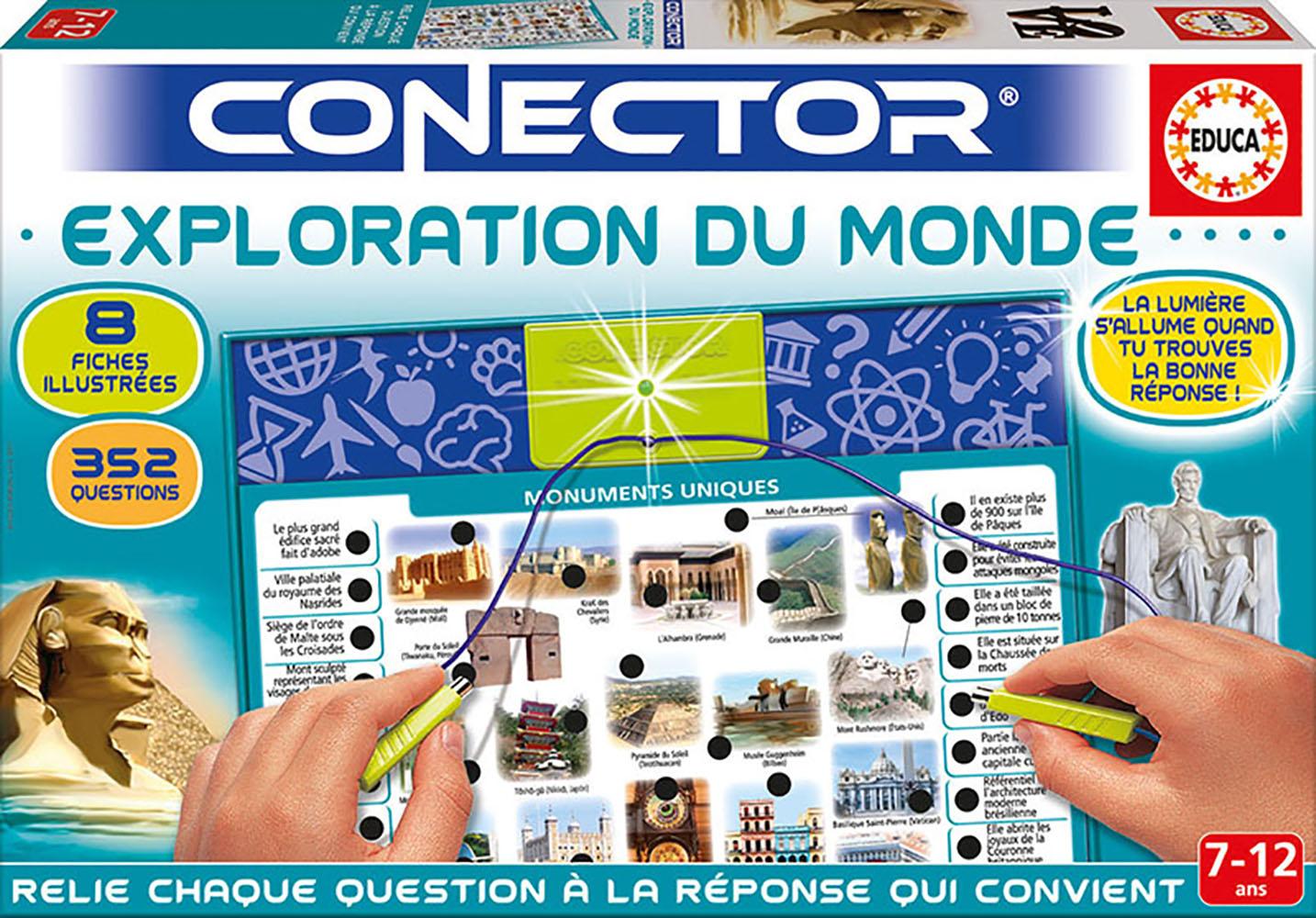 Educa - Conector Exploration du monde Version française