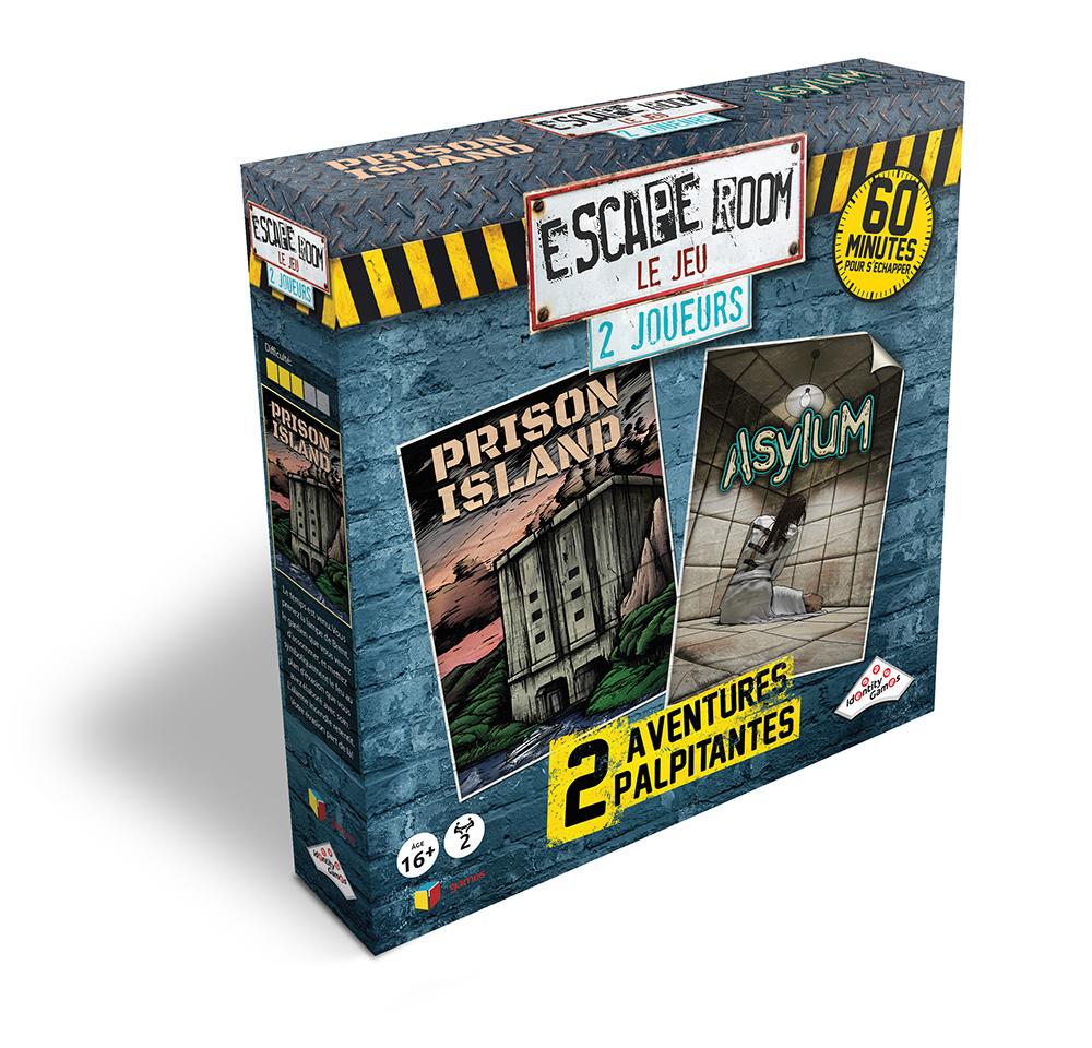 Jeu Escape Room - Coffret 2 joueurs Version française