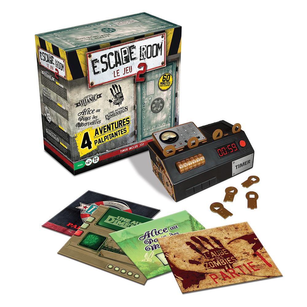 Jeu Escape Room - Coffret de Base 2