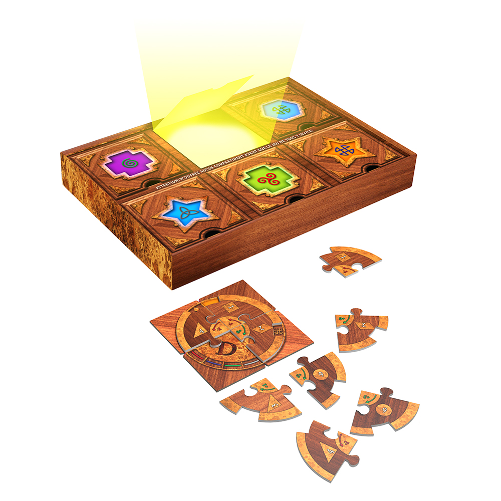 Jeu Escape Room Puzzle Aventure - Le Secret du Scientifique