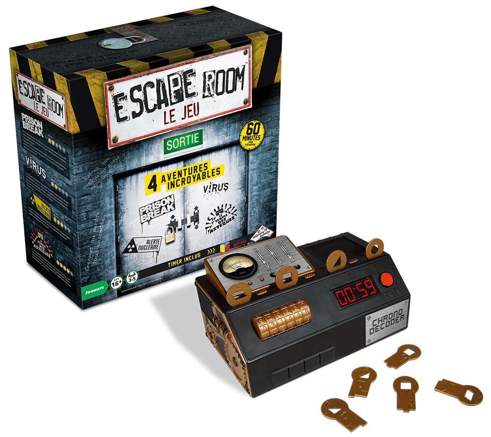 Jeu Escape Room - Coffret de Base