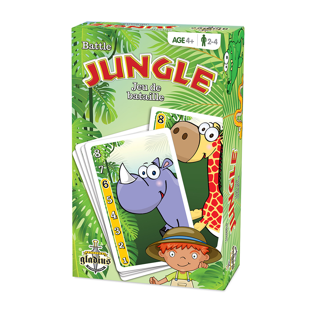Jeu de bataille Jungle