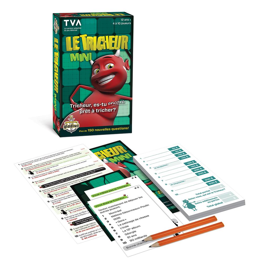 Jeu Le Tricheur mini version française