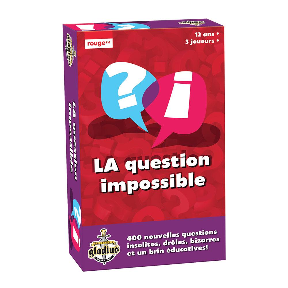 Jeu La Question Impossible - Volume 2