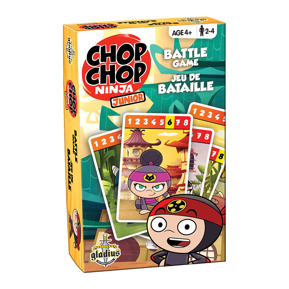 Jeu Chop Chop Ninja - Bataille
