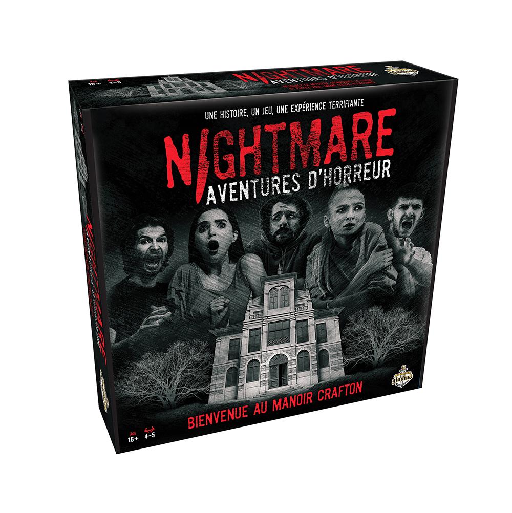 Jeu Nightmare Aventures d'horreur - Bienvenue au Manoir Cafton