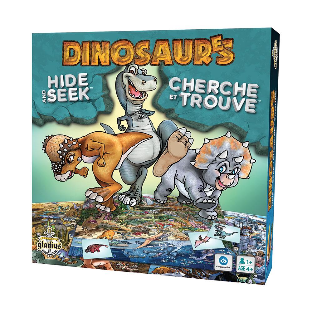 Jeu Cherche et Trouve Dinosaures