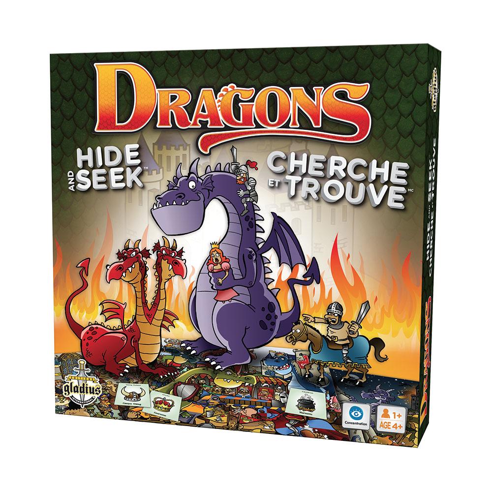 Jeu Cherche et Trouve Dragons