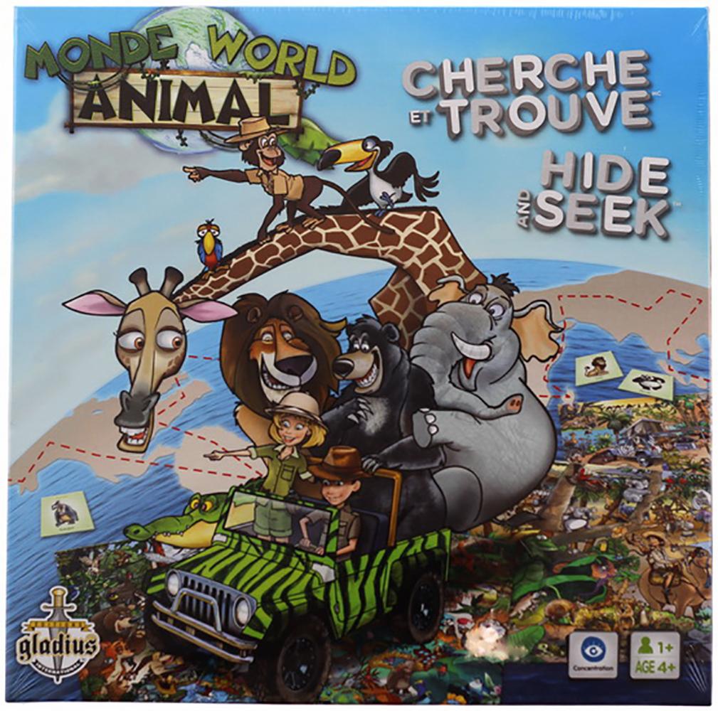 Jeu Cherche et Trouve Monde animal