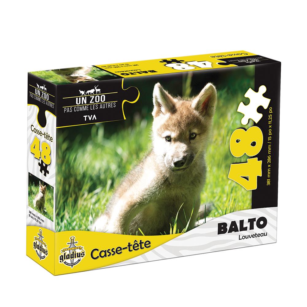 Casse-tête 48 pièces- Miller Zoo- Balto
