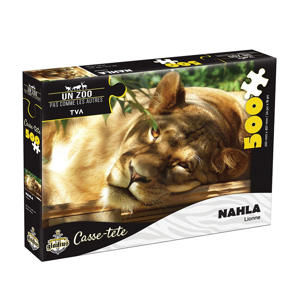 Casse-tête 500 pièces - Miller Zoo- Lionne Nahla