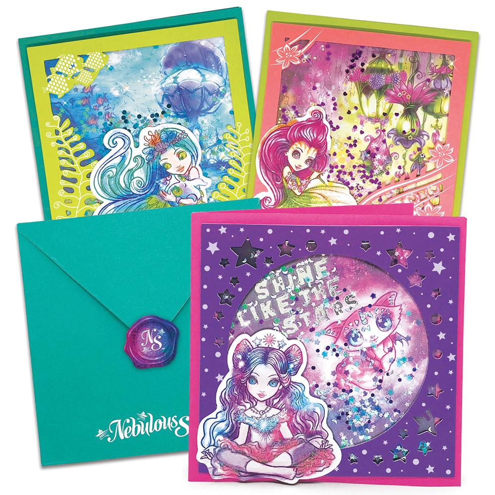 Nebulous Stars - Ensemble de cartes avec relief