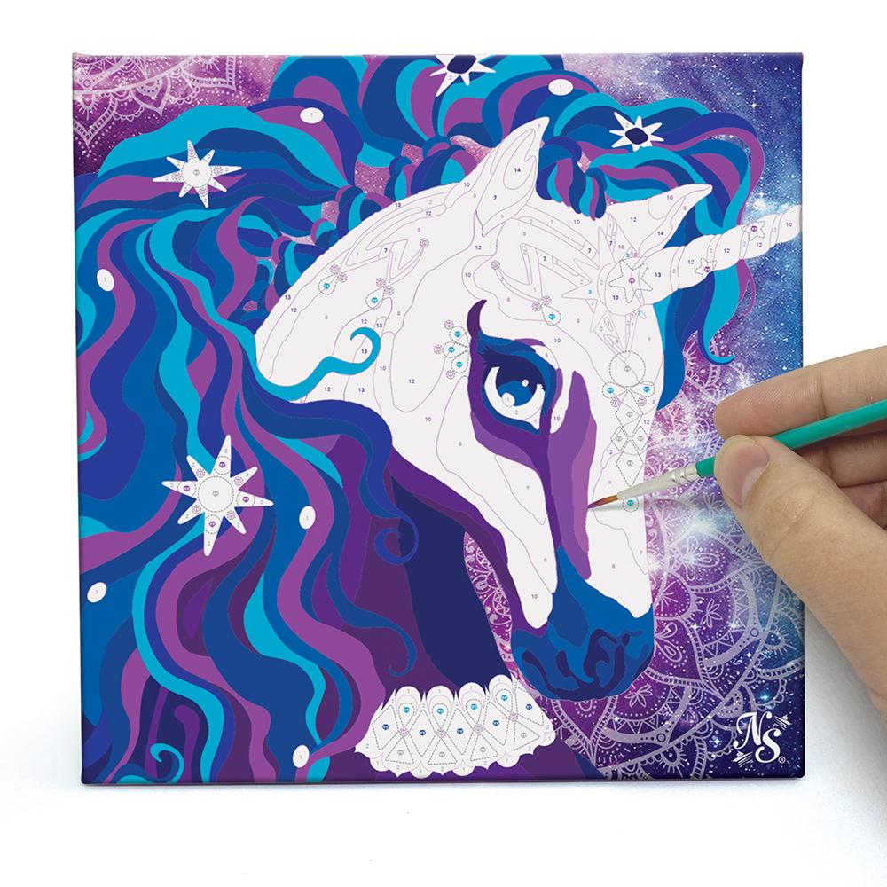 Nebulous Stars - Peintures à numéros sur toile
