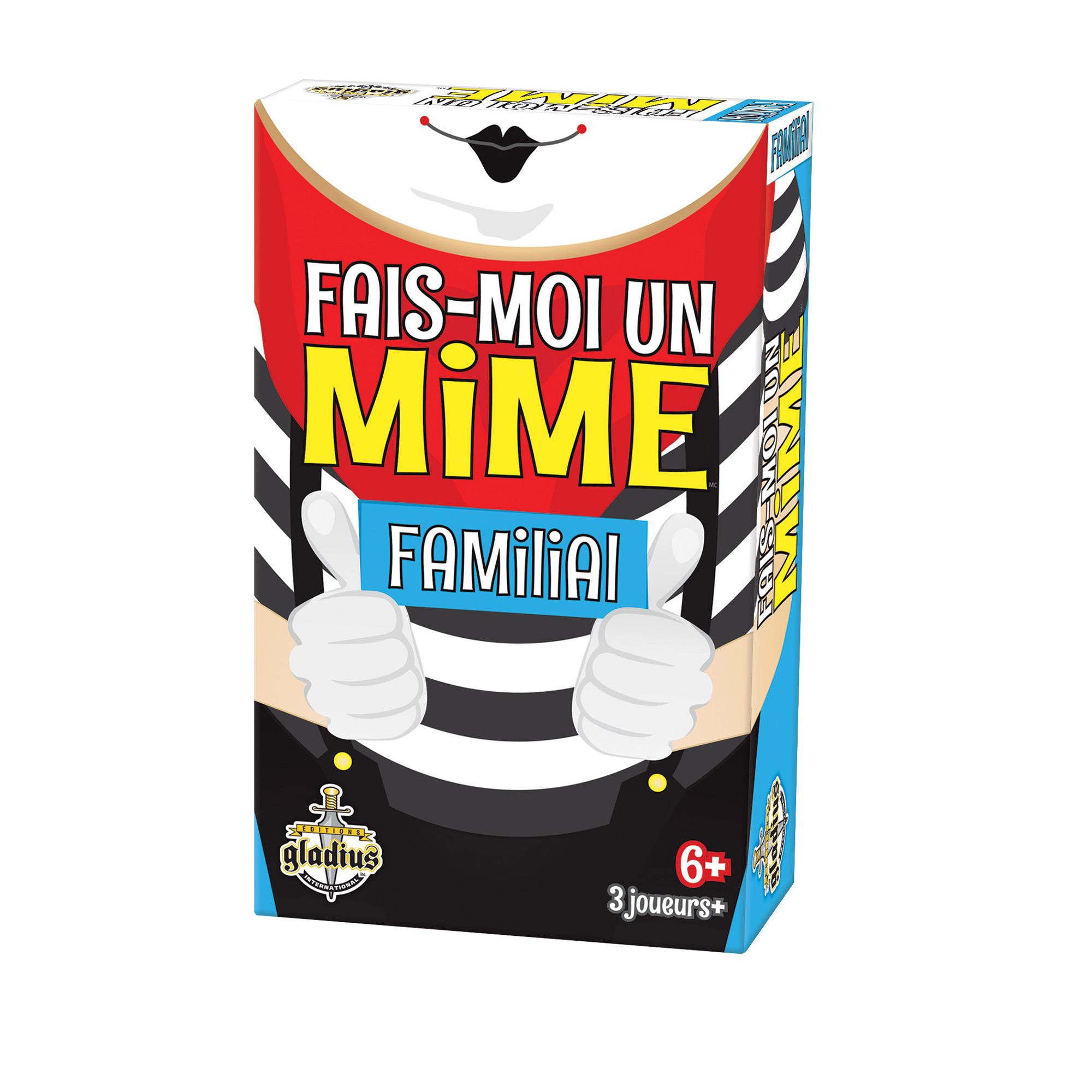 Jeu Fais-moi un mime - Familial Version française