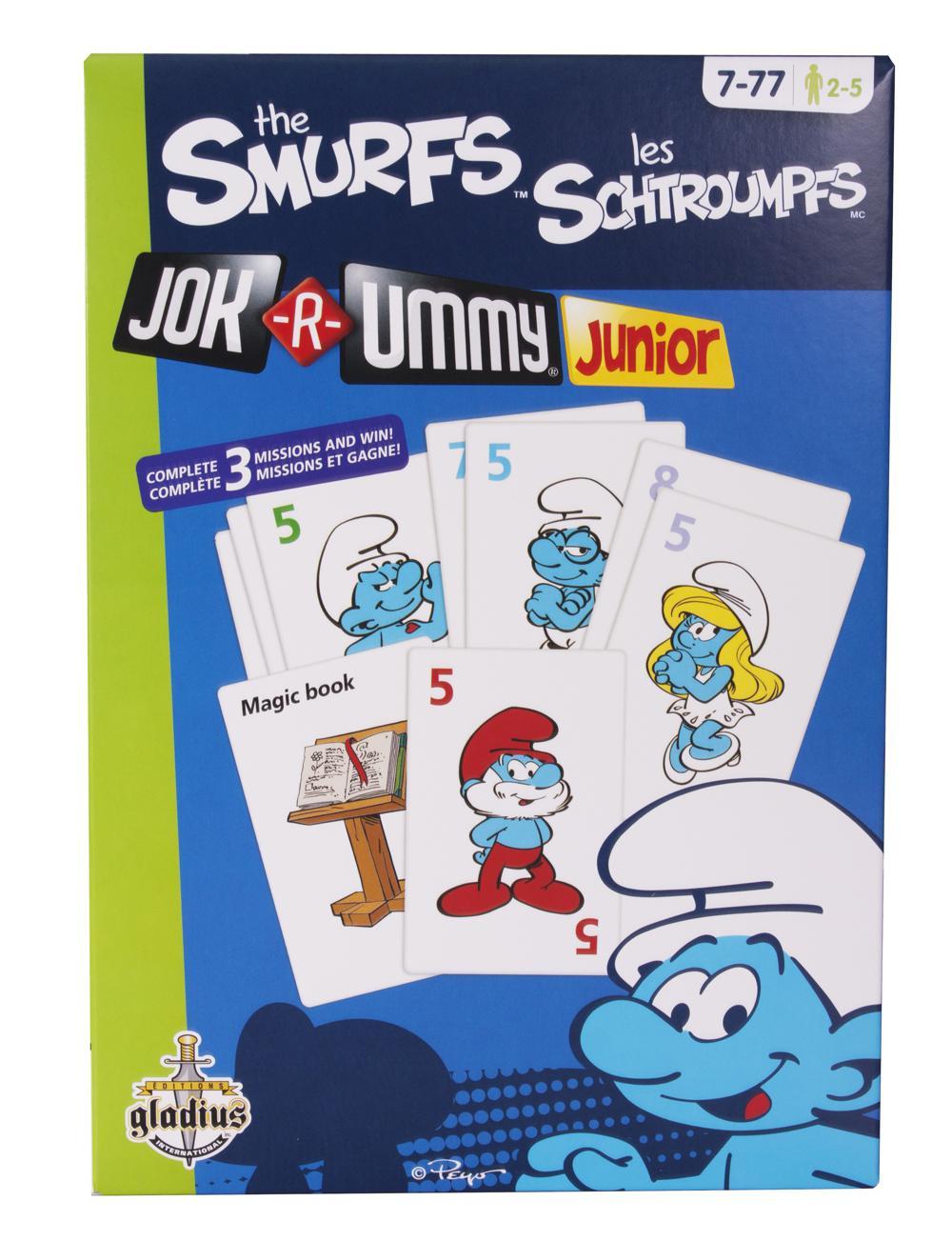 Jeu Jok-R-Ummy Junior Schtroumpfs