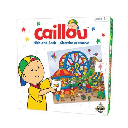 Jeu cherche et trouve Caillou
