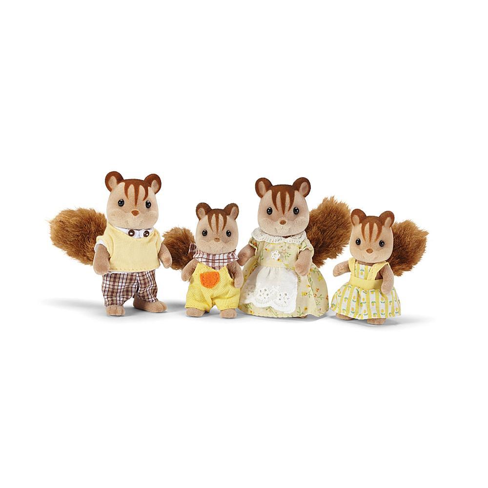 Calico - Famille de suisses Hazelnut