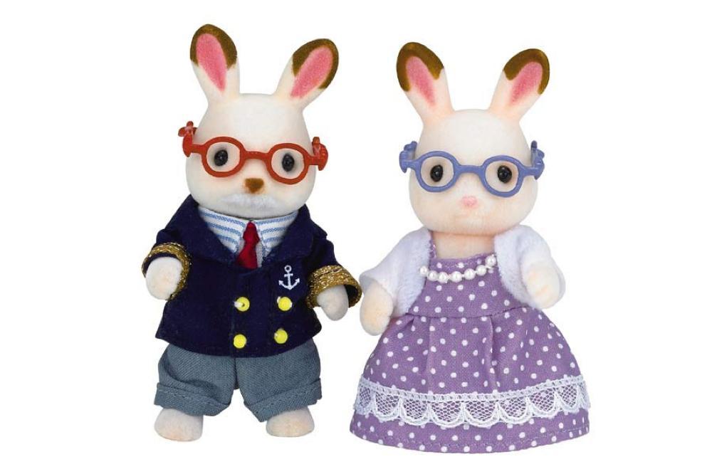 Calico - Hopscotch Grand-parents lapins