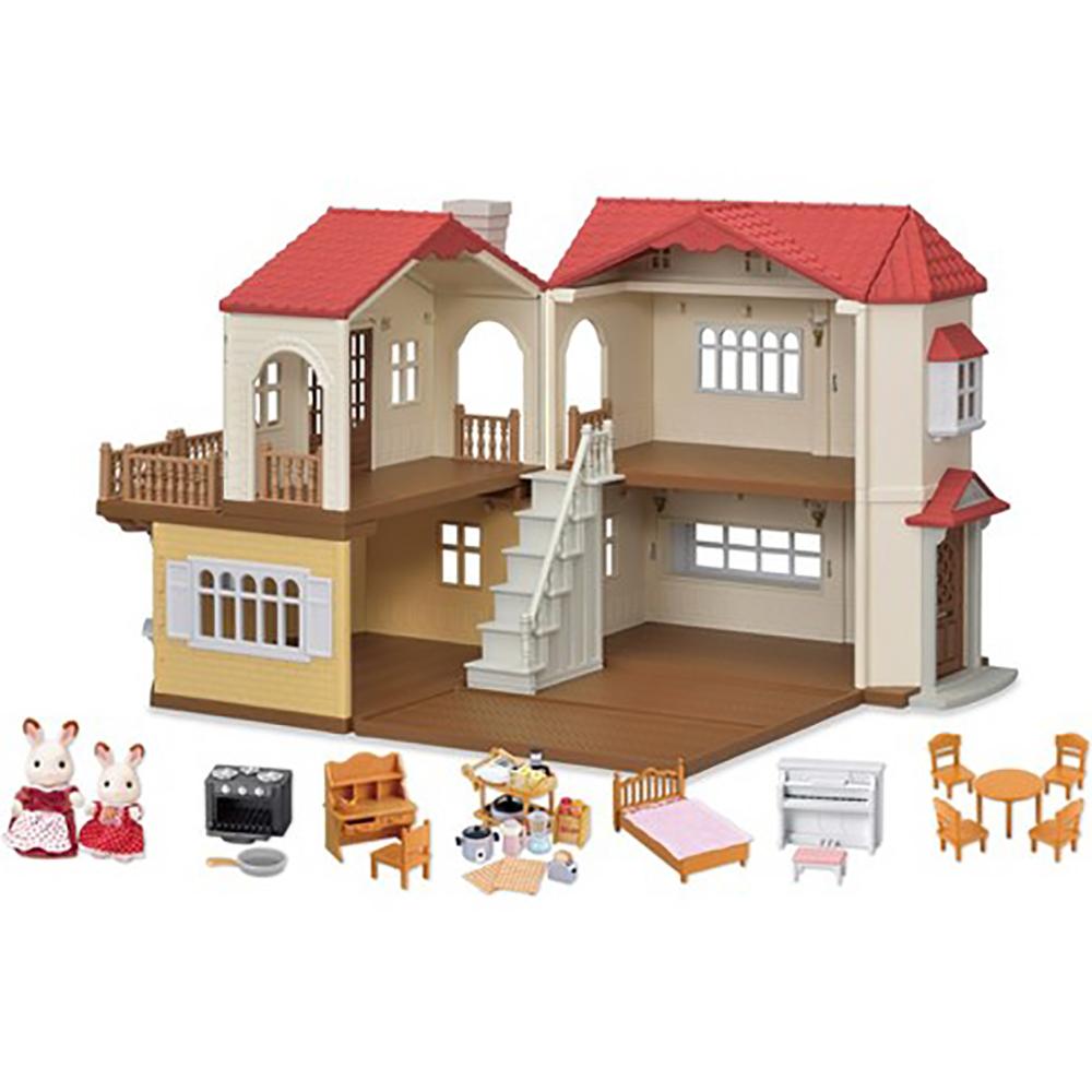Calico - Maison de campagne au toit rouge