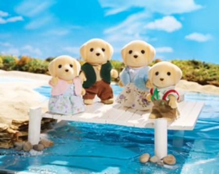 Calico - Famille de Labrador Jaune