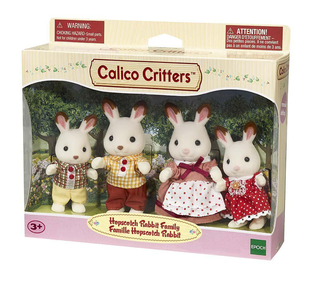 Calico - Famille lapins Hopscoth
