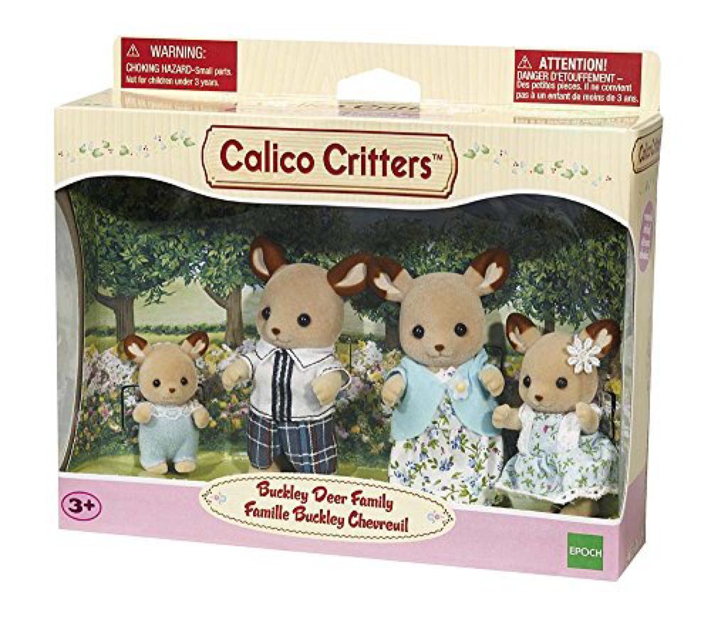 Calico - Famille chevreuils Buckley