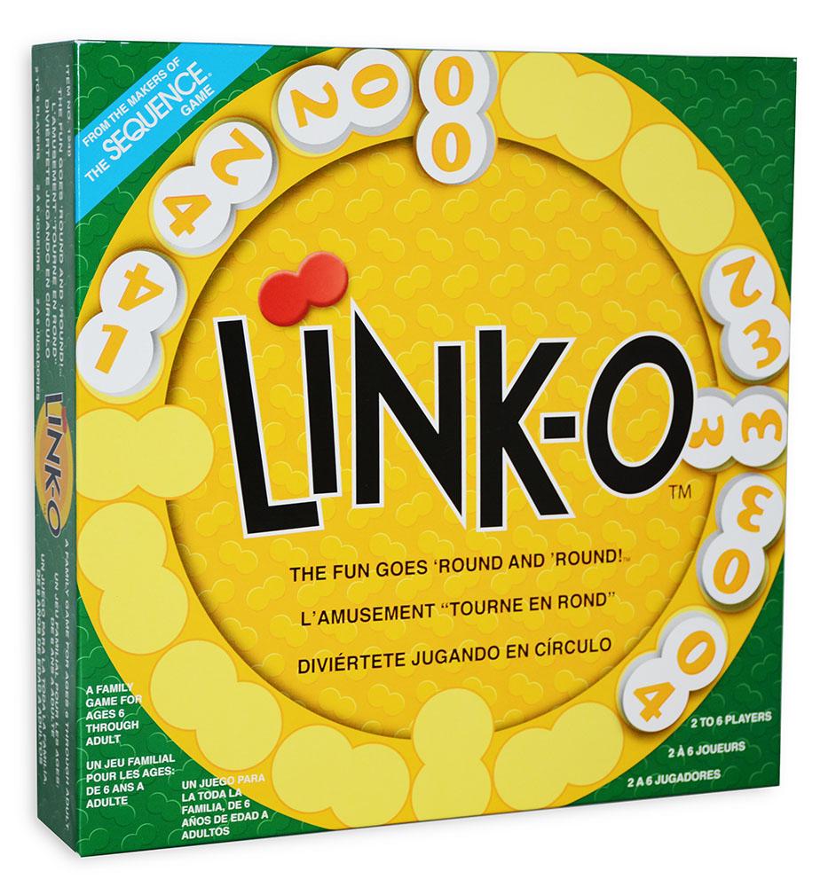 Jeu Link-O Trilingue