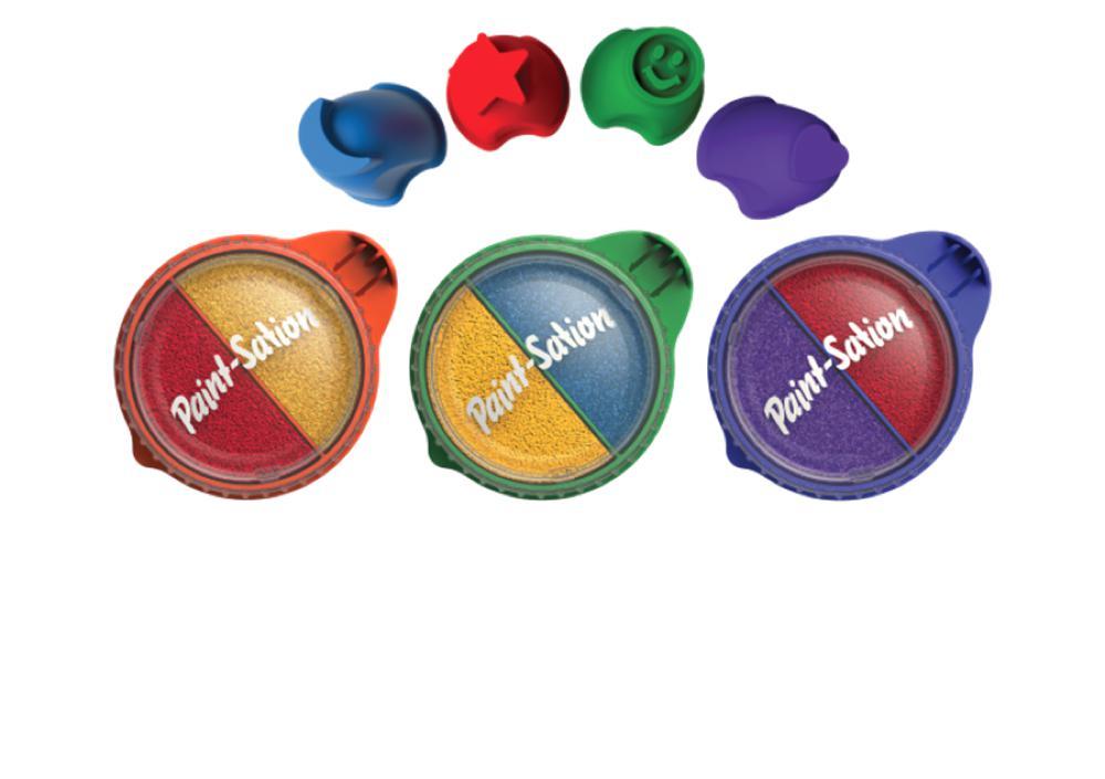 paint station peinture avec les doigts club jouet achat de jeux et jouets prix club. Black Bedroom Furniture Sets. Home Design Ideas