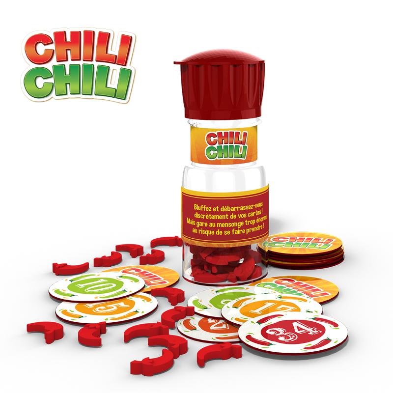 Jeux Spicy games 4 jeux assortis