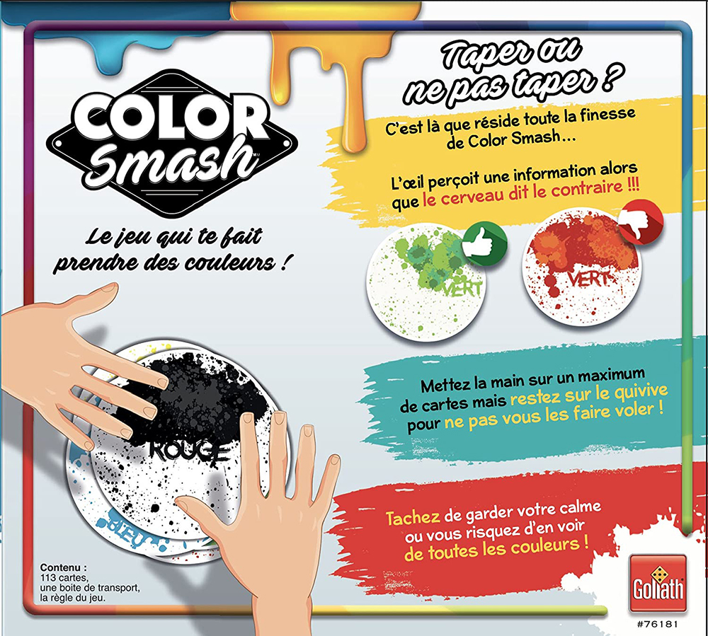 Jeu Color Smash Version française