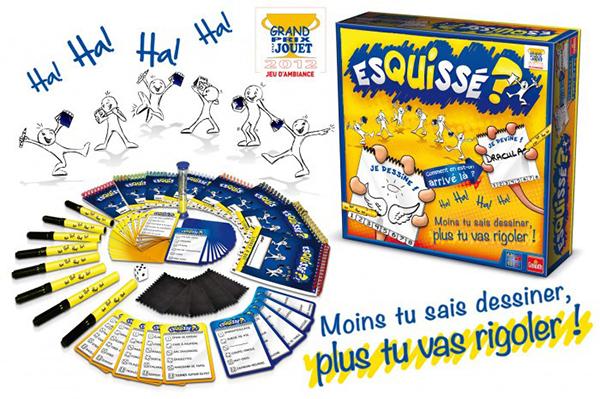 Jeu Esquissé -version française